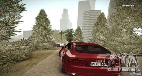 ENB Graphics Mod Samp Edition para GTA San Andreas por diante tela