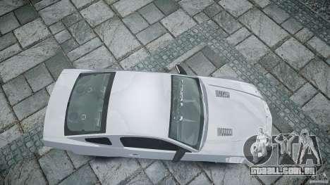 Ford Shelby GT500 para GTA 4 vista direita