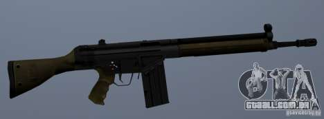 G3A3 Rifle de assalto para GTA San Andreas