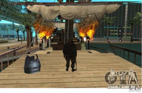 Forças especiais Berkrut para GTA San Andreas segunda tela