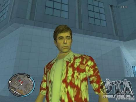 Tony Montana para GTA San Andreas segunda tela