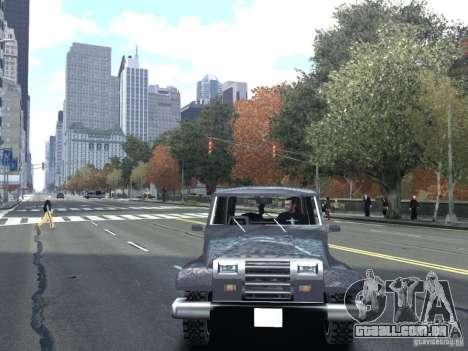 Mesa em GTA San Andreas para GTA IV para GTA 4 vista direita