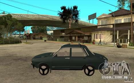 Dacia 1300 Cocalaro Tzaraneasca para GTA San Andreas esquerda vista