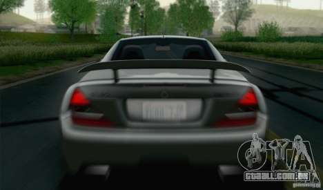 Mercedes-Benz SL65 AMG Black Series para GTA San Andreas vista interior