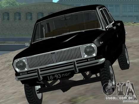 GAZ-24 VOLGA 95 para GTA San Andreas vista direita