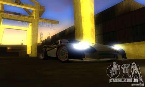 ENB Graphics by KINOman para GTA San Andreas oitavo tela