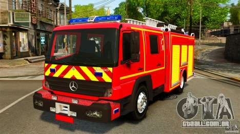 Mercedes-Benz Atego FPTGP Sapeurs Pompiers ELS para GTA 4