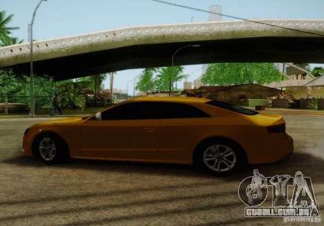 Audi S5 para GTA San Andreas interior