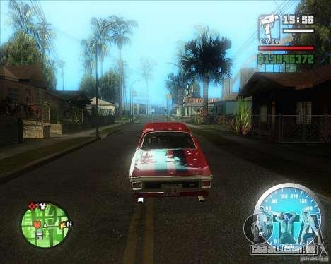 MadDriver s ENB v.3.1 para GTA San Andreas segunda tela