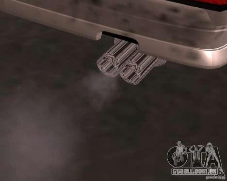 Táxi Cabriolet para GTA San Andreas vista direita