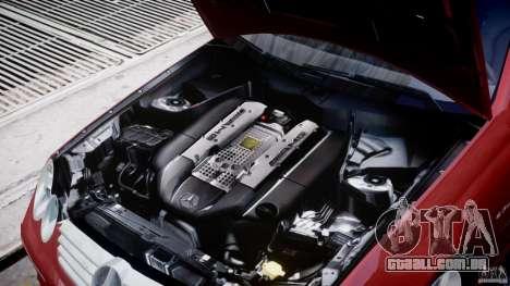 Mercedes-Benz CLK 63 AMG 2005 para GTA 4 vista de volta