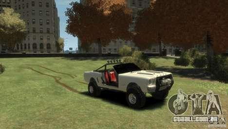 Ford Mustang Sandroadster 1.0 para GTA 4 vista direita