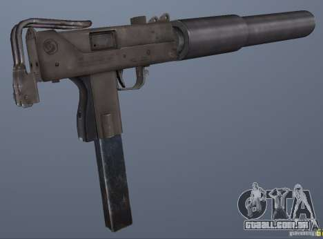 GRIMs Mac10 Silenced para GTA San Andreas