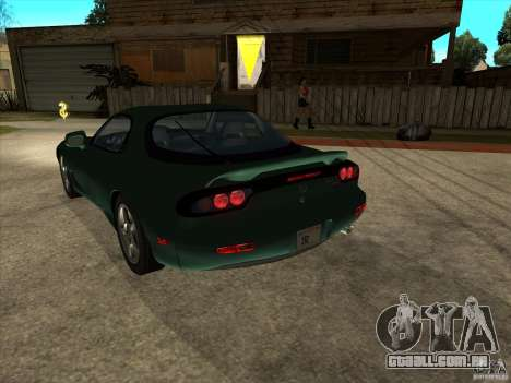 Mazda RX-7 1991-1999 para GTA San Andreas esquerda vista