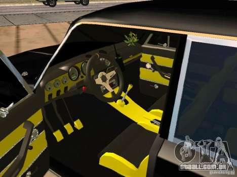 Ajuste de 2103 VAZ para GTA San Andreas traseira esquerda vista
