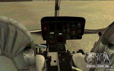 MD 902 Explorer para GTA San Andreas vista direita