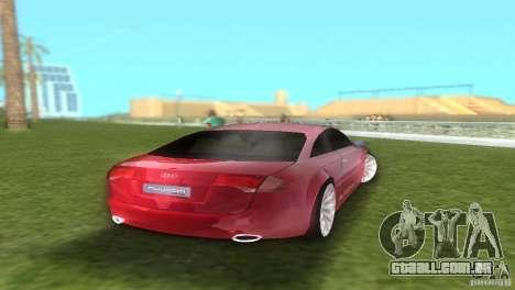 Audi Nuvolari Quattro para GTA Vice City vista direita