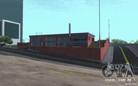 Vendedor de carros novos carros Wang para GTA San Andreas sexta tela
