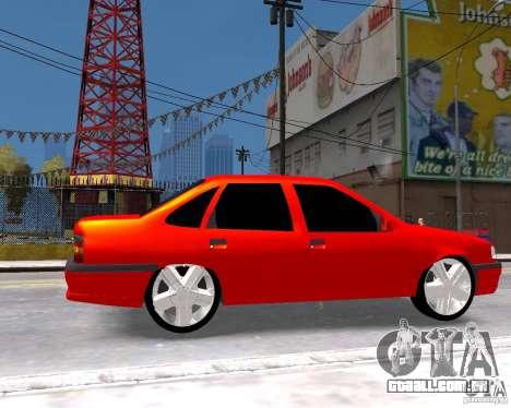 Opel Vectra 1995 para GTA 4 vista direita