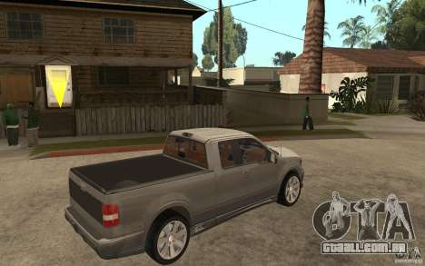 Saleen S331 Super Cab para GTA San Andreas vista direita