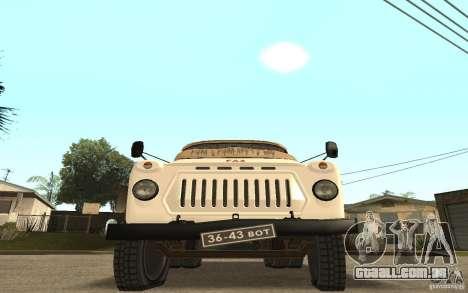 Gaz-52 para vista lateral GTA San Andreas