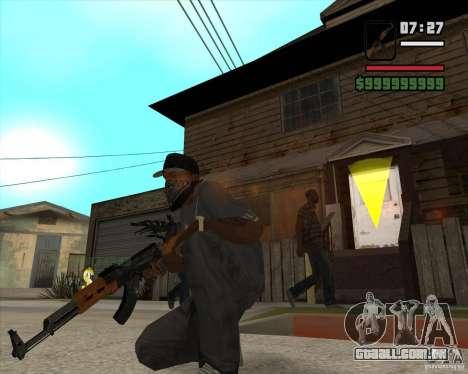 AK 47 de Xenus 2 para GTA San Andreas segunda tela