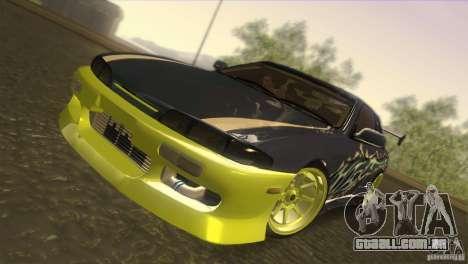 Nissan Silvia S14 para GTA San Andreas vista traseira