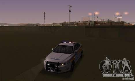 Luzes estroboscópicas para GTA San Andreas segunda tela
