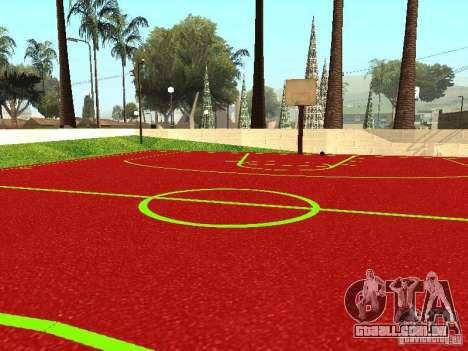 Quadra de basquete para GTA San Andreas terceira tela