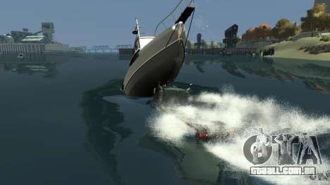 Biff boat para GTA 4 interior