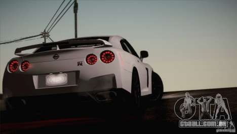 Nissan GTR Black Edition para GTA San Andreas