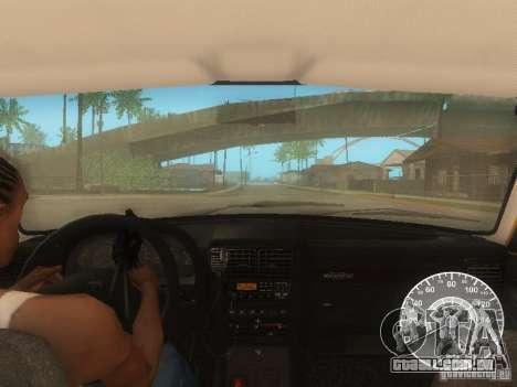Táxi de GAZ 3110 Volga para GTA San Andreas vista inferior