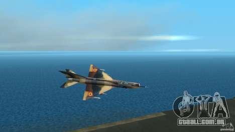 MiG 21 LanceR A para GTA Vice City