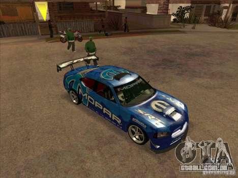 Mopar Dodge Charger para GTA San Andreas esquerda vista