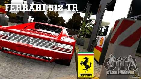 Ferrari 512 TR BBS para GTA 4 traseira esquerda vista