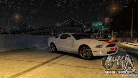 Ford Shelby Mustang GT500 2011 v2.0 para GTA 4 rodas