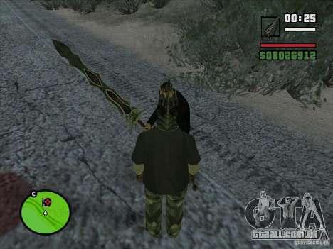 Garra Beliara para GTA San Andreas segunda tela