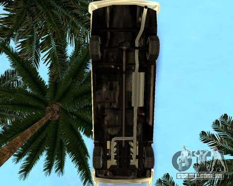 Dodge Polara para GTA San Andreas traseira esquerda vista