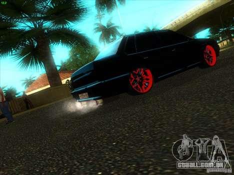 VAZ 2115 diabo Tuning para GTA San Andreas traseira esquerda vista