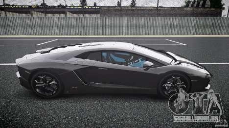 Lamborghini Aventador LP700-4 [EPM] 2012 para GTA 4 vista interior