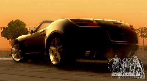 Opel GT 2007 para GTA San Andreas esquerda vista