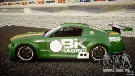 Ford Mustang GT-R para GTA 4 esquerda vista