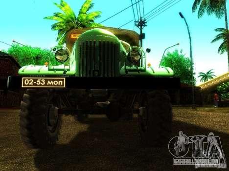 ZIL 157 Truman para vista lateral GTA San Andreas