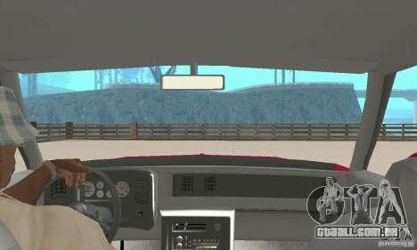 Chevrolet Monte Carlo SS 1986 para GTA San Andreas vista traseira