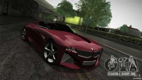 BMW Vision Connected Drive Concept para vista lateral GTA San Andreas