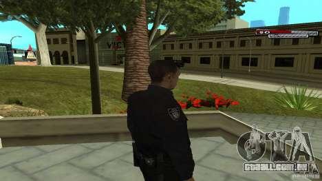 Oficial de polícia para GTA San Andreas terceira tela