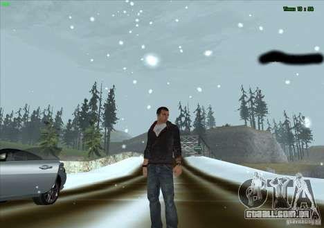 Desmond Miles para GTA San Andreas segunda tela