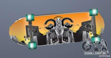 Skateboard Skin 1 para GTA San Andreas segunda tela