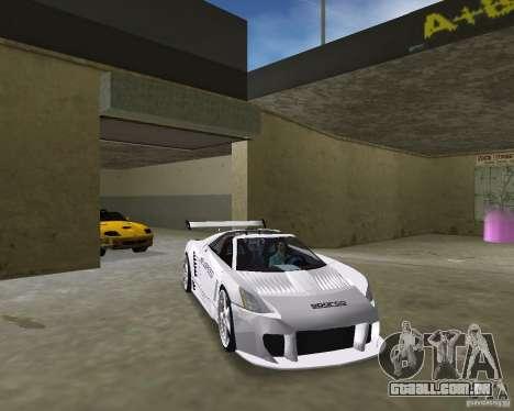 Cadillac Cien Shark Dream TUNING para GTA Vice City vista direita