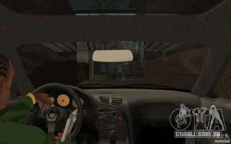 Mazda RX 7 VeilSide para GTA San Andreas esquerda vista